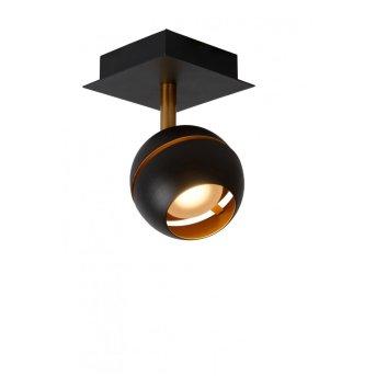 Lucide BINARI Spot LED Schwarz, 1-flammig