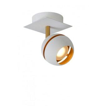 Lucide BINARI Spot LED Weiß, 1-flammig