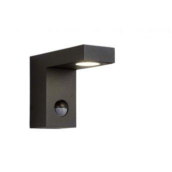 Lucide TEXAS-IR Außenwandleuchte LED Schwarz, 1-flammig