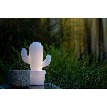 Lucide CACTUS Außentischleuchte LED Weiß