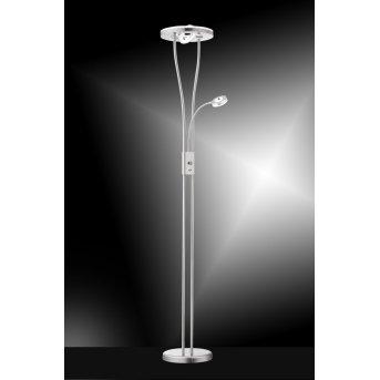 Leuchtendirekt HELIA Stehlampe LED Edelstahl, 4-flammig