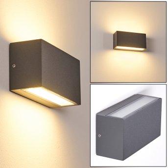 Duluth Außenwandleuchte LED Anthrazit, 1-flammig