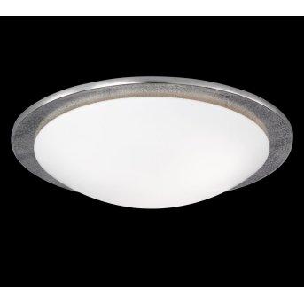 Fischer Leuchten Shine ALU Deckenleuchte Nickel-Matt, 3-flammig