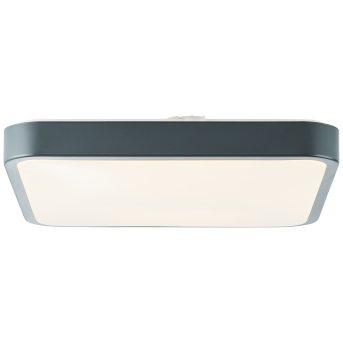 Brilliant Slimline Wand- und Deckenleuchte LED Grau, Weiß, 1-flammig, Fernbedienung