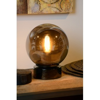 Lucide JORIT Tischlampe Grau, 1-flammig