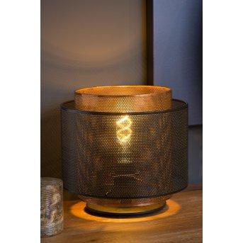 Lucide ORRIN Tischlampe Schwarz, 1-flammig