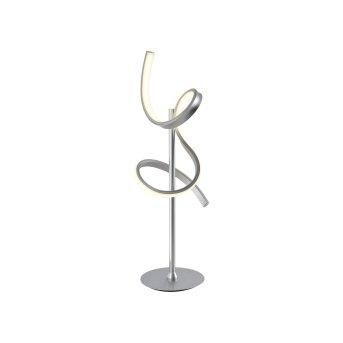 Leuchten Direkt CURLS Tischleuchte LED Silber, 1-flammig