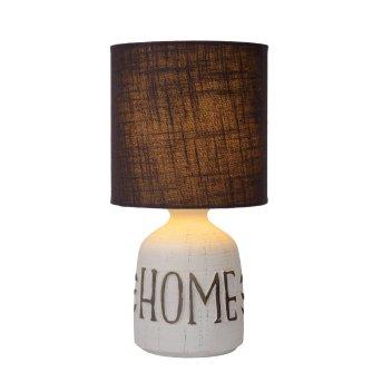 Lucide COSBY Tischlampe Weiß, 1-flammig