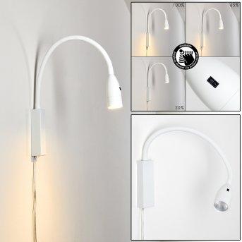 Alsea Bettleuchte LED Weiß, 1-flammig, Bewegungsmelder