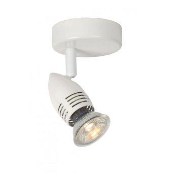 Lucide CARO Spot LED Weiß, 1-flammig