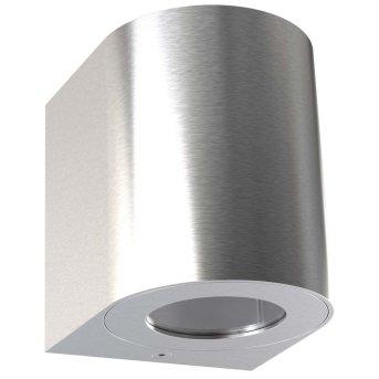 Nordlux CANTO Außenwandleuchte LED Edelstahl, 2-flammig