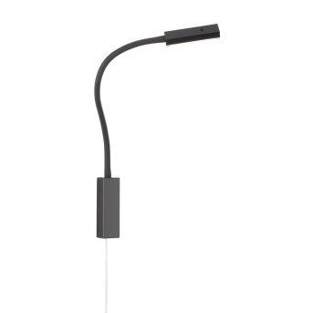 Fischer & Honsel function Raik Bettleuchte LED Schwarz, 1-flammig