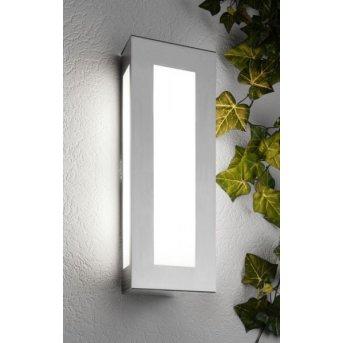 CMD Aqua Light Außenwandleuchte Edelstahl, 2-flammig