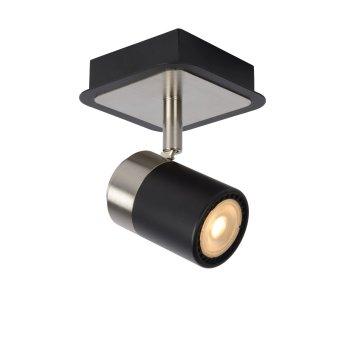 Lucide LENNERT Deckenleuchte LED Schwarz, 1-flammig