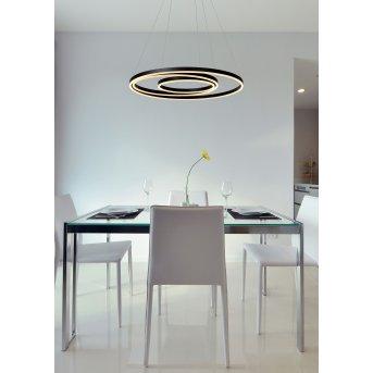 Lucide TRINITI Pendelleuchte LED Schwarz, 1-flammig