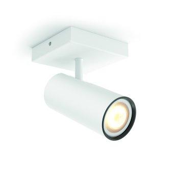 Philips Hue Ambiance White Buratto Deckenspot Erweiterung Weiß, 1-flammig