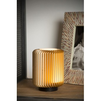 Lucide TURBIN Tischlampe LED Gold, 1-flammig
