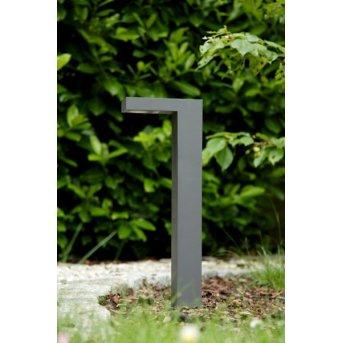 Lucide Außensockelleuchte TEXAS LED Schwarz, 1-flammig