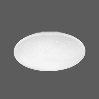 Leuchten Direkt Deckenleuchte URANUS LED Weiß, 1-flammig, Fernbedienung