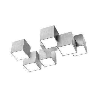 Grossmann ROCKS Deckenleuchte LED Aluminium, 6-flammig