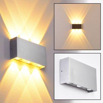Lente Wandleuchte LED Aluminium, 6-flammig
