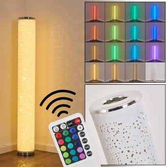 Tumba Stehleuchte LED Weiß, 1-flammig, Fernbedienung, Farbwechsler