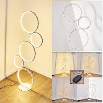 Rodekro Stehleuchte LED Weiß, 1-flammig