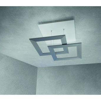 Escale ZEN D2W Deckenleuchte LED Grau, 10-flammig