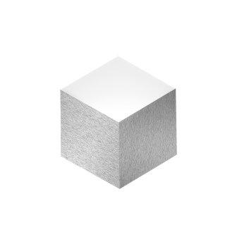 Grossmann GEO Wandleuchte LED Aluminium, 2-flammig