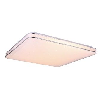 Globo LASSY Deckenleuchte LED Weiß, 1-flammig, Fernbedienung