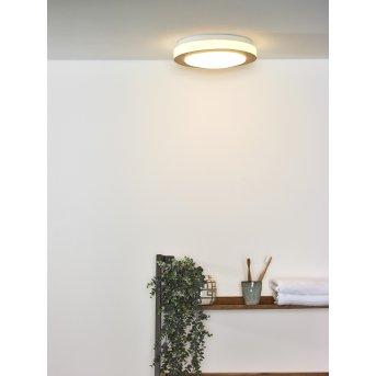 Lucide DIMY Deckenleuchte LED Holz dunkel, 1-flammig