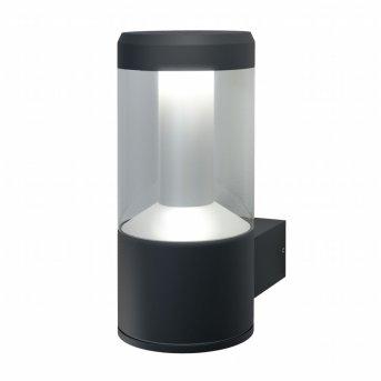 LEDVANCE SMART+ Außenwandleuchte Grau, 1-flammig, Farbwechsler