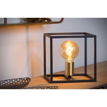 Lucide RUBEN Tischlampe Schwarz, 1-flammig