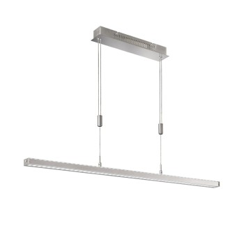 Fischer & Honsel VITAN Pendelleuchte LED Nickel-Matt, 1-flammig
