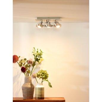 Lucide LANDA Deckenspot LED Chrom, 3-flammig
