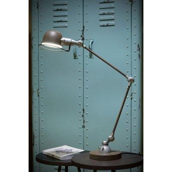 Lucide HONORE Schreibtischlampe Rostfarben, 1-flammig