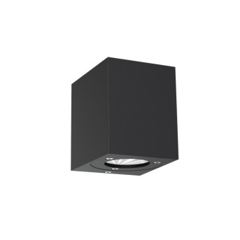 Nordlux CANTO KUBI Außenwandleuchte LED Schwarz, 2-flammig