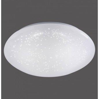 Leuchten Direkt SKYLER Deckenleuchte LED Weiß, 1-flammig