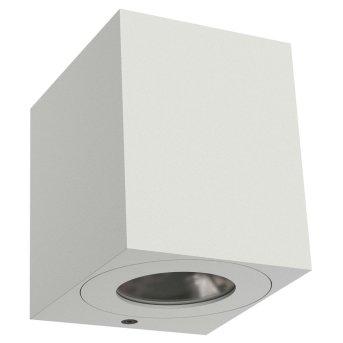 Nordlux CANTO Außenwandleuchte LED Weiß, 2-flammig