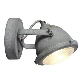 Brilliant Leuchten Carmen Wandspot LED Grau, 1-flammig