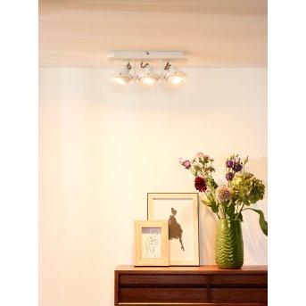 Lucide LANDA Deckenspot LED Weiß, 3-flammig