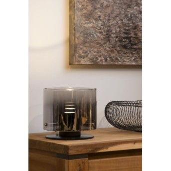 Lucide OWINO Tischlampe LED Grau, 1-flammig
