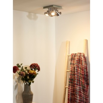 Lucide LANDA Deckenspot LED Chrom, 4-flammig