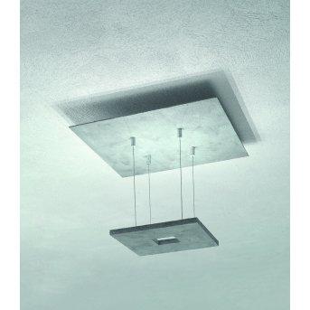Escale ZEN D2W Deckenleuchte LED Grau, 4-flammig