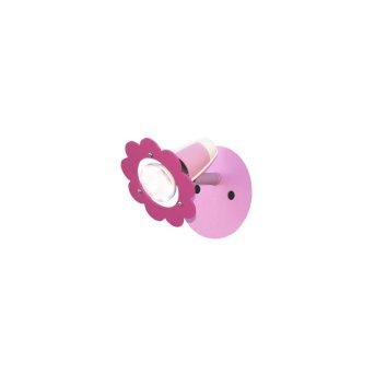 Elobra BLÜTE Spot Pink, 1-flammig