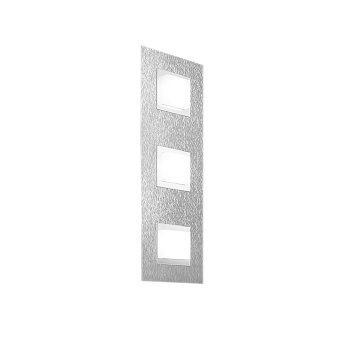 Grossmann BASIC Wandleuchte LED Aluminium, 3-flammig