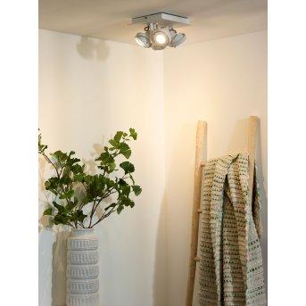 Lucide LANDA Deckenspot LED Weiß, 4-flammig