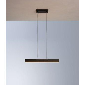 Bopp NANO Pendelleuchte LED Schwarz, 1-flammig