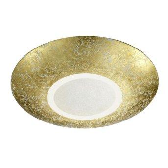 Trio Leuchten CHIROS Deckenleuchte LED Gold, 1-flammig
