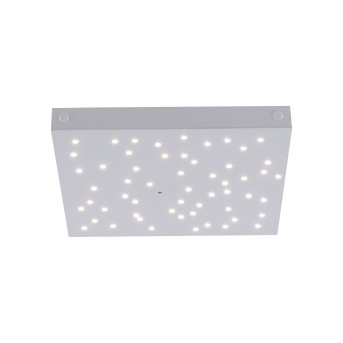 Leuchten Direkt Ls-STARS Deckenleuchte LED Weiß, 1-flammig, Fernbedienung, Farbwechsler